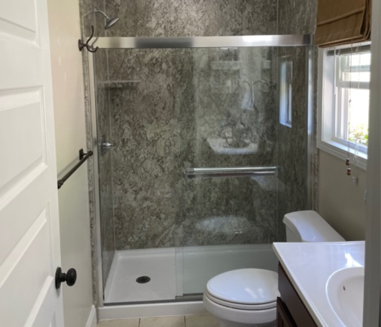 New Shower Installation in Anderson, SC