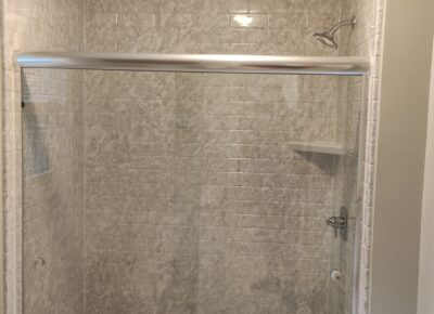 Installation of New Shower in Easley, SC